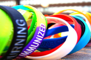 silicone wristbands - se silicone ink
